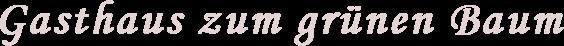 Gasthaus Fischer Logo